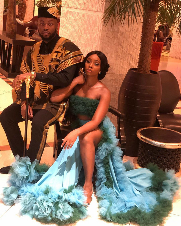 Finding love can take anyone to the most unexpected places. That exactly was the case of Teddy A and Bam Bam. [Instagram/BammyBestowed]