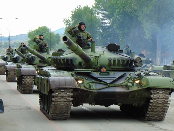 Vojna parada, Niš, Vežba