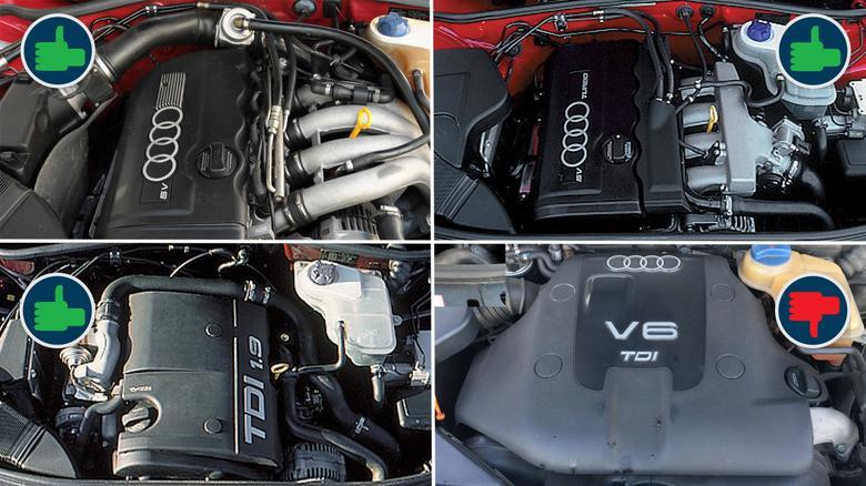 """Benzynowe silniki polecamy """"w ciemno"""", spośród diesli najgorzej wypada 2.5 V6."""