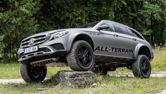 Mercedes E All Terrain 4x4² – czego chcieć więcej?