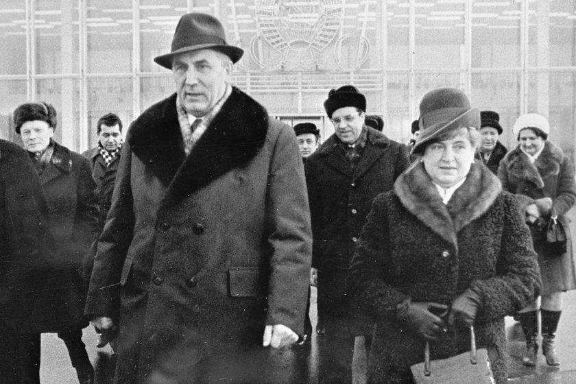 Stanisława i Edward Gierek