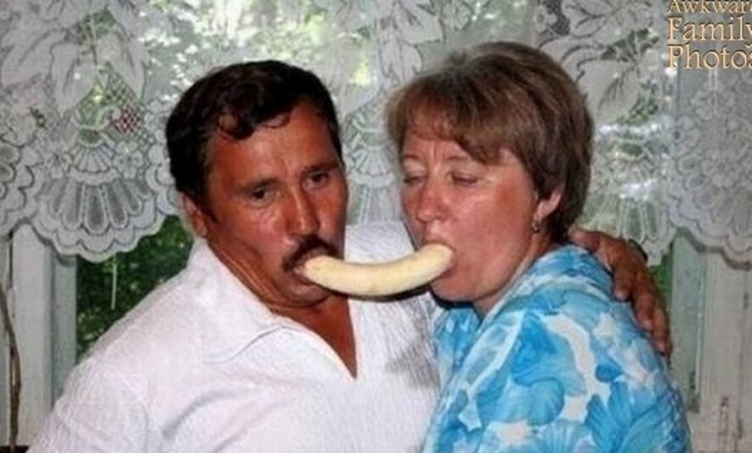 Połączył ich banan