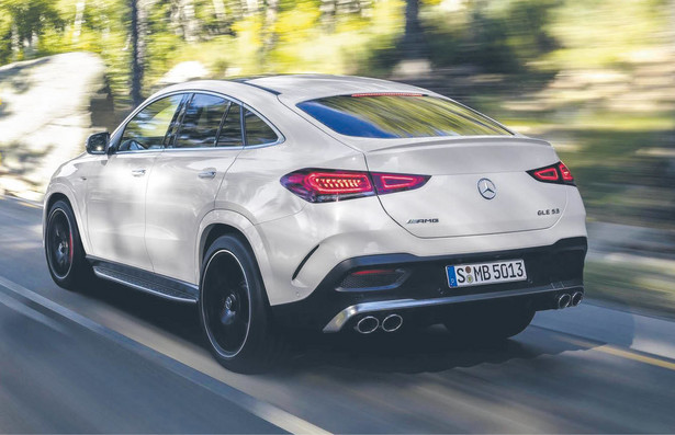 Mercedes GLE Coupe AMG 53
