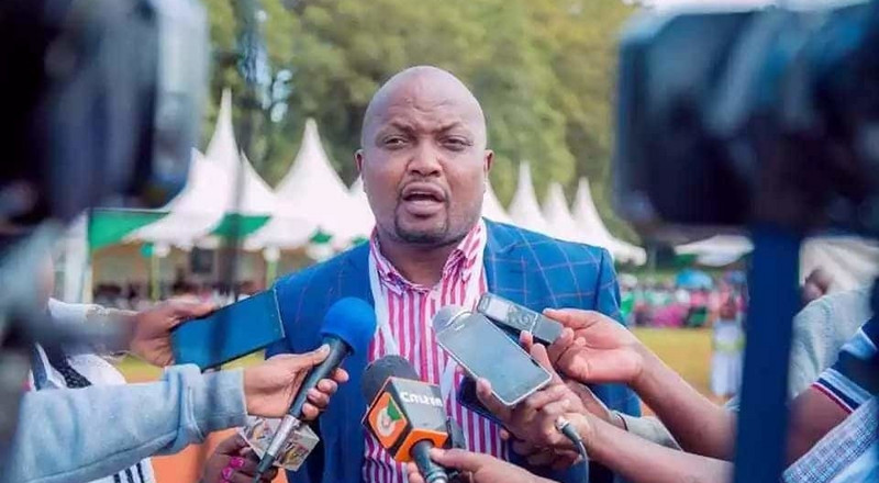 Moses Kuria makes first public appearance after battle with Covid-19 (Photo)