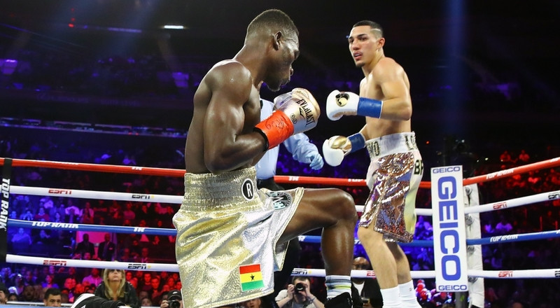 Ghanaians and Boxing pros react to Richard Commey's defeat to Teofimo Lopez