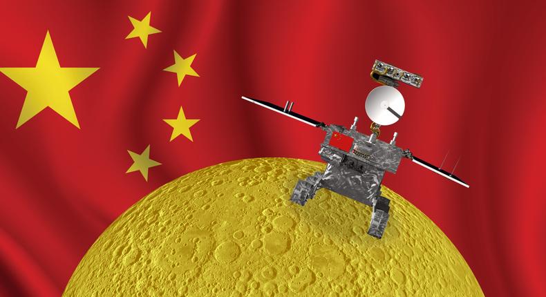 far dark side moon china change 4 lunar mission landing chinese flag illustration shayanne gal insider 2x1