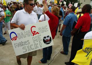 Nic tak nie dzieli Amerykanów jak Obamacare