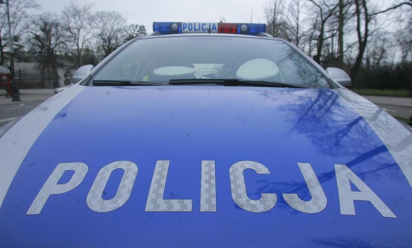 Wypadek w Policach