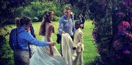 Ślub byłego Madonny. Panna młoda olśniła gości!