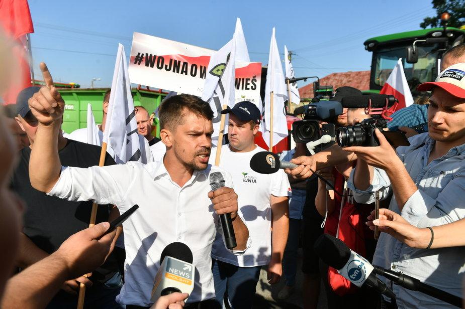 Protest rolników z Agrounii