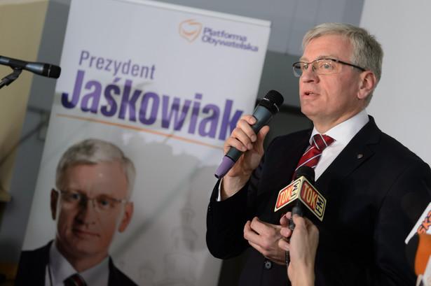 Poznań Jacek Jaśkowiak 59,1 proc. Ryszard Grobelny 40,9 proc.