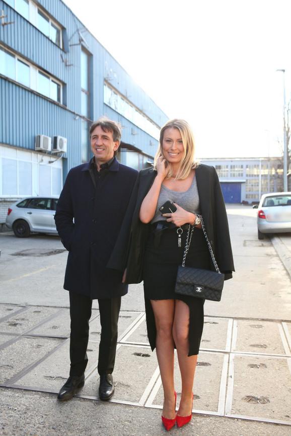 Bivši supružnici, Žika Jakšić i Dajana Paunović