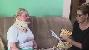 Uwaga! TVN: Emerytka obezwładniona przez policjanta. Policja twierdzi, że była agresywna