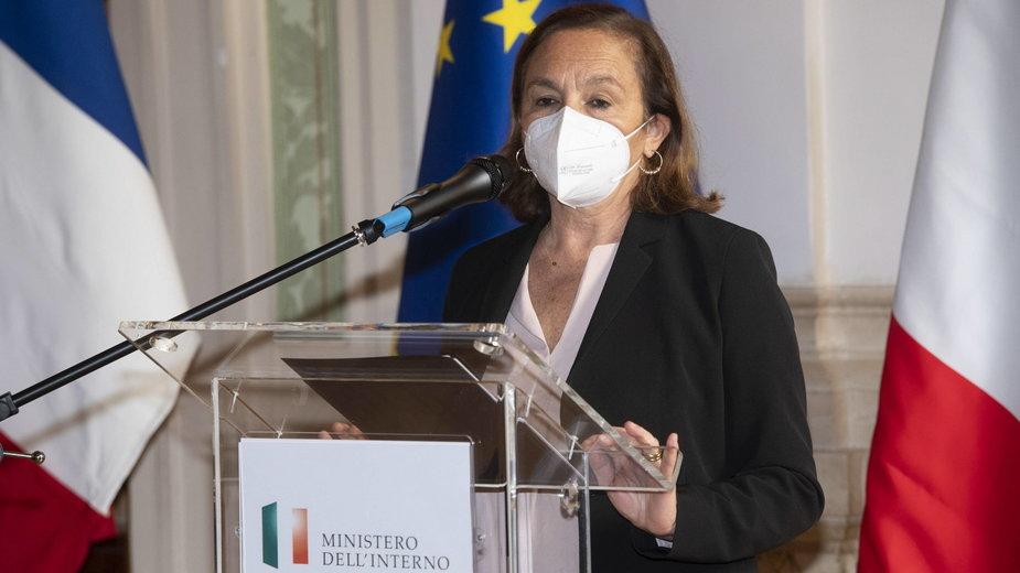 Minister spraw wewnętrznych, Luciana Lamorgese,