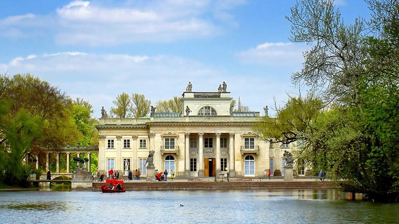 Warszawa łazienki Królewskie Bardziej Przyjazne Podróże