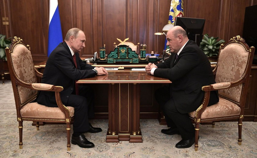 Putin proposes candidacy of Federal Tax Service chief Mikhail Mishustin for PM