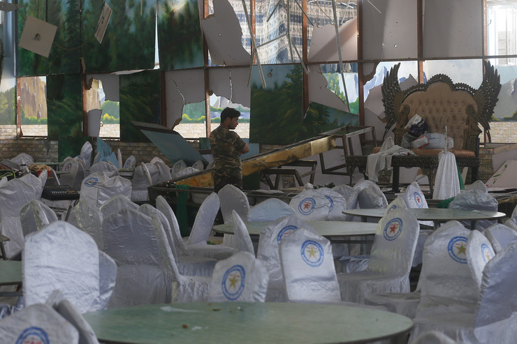 Kabul, Avganista, svadba, eksplozija