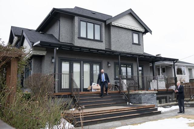 Kuća u kojoj Meng boravi u Vankuveru