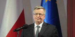 Komorowski podpadł Polakom. Spada zaufanie do prezydenta