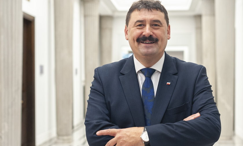 Wiceminister rolnictwa Ryszard Bartosik.