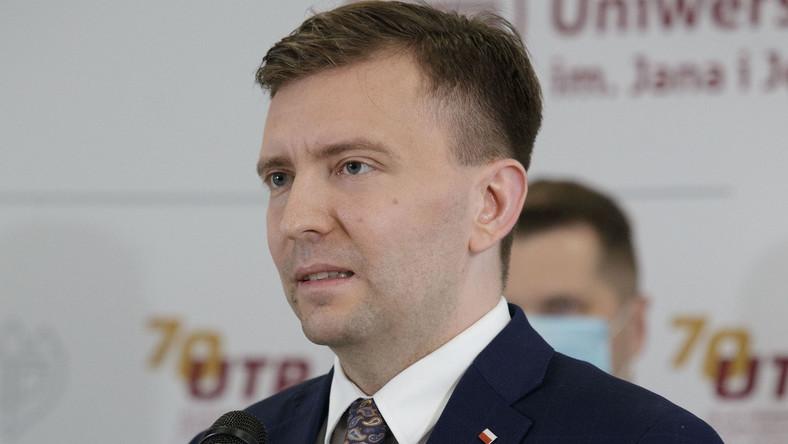 Minister Łukasz Schreiber