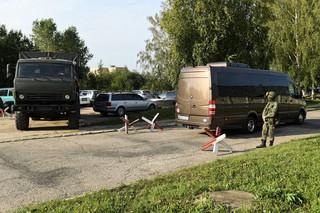 W Smoleńsku trwają prace polskich prokuratorów przy wraku Tu-154M