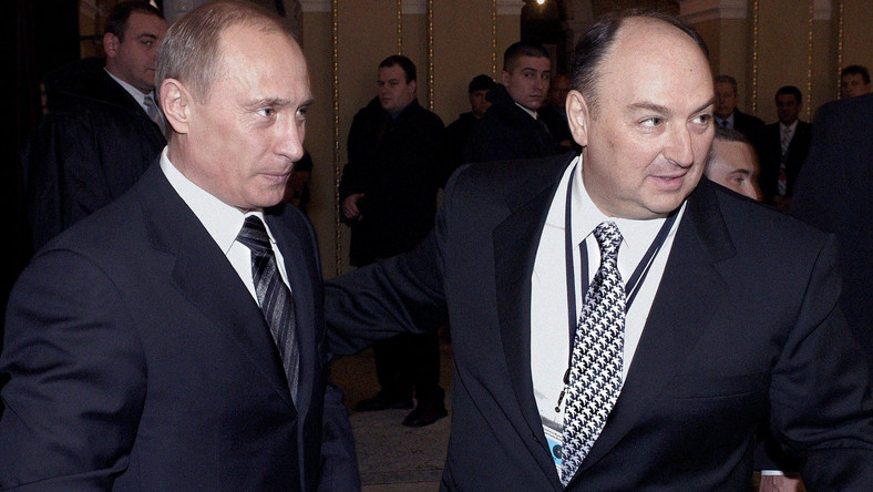 Władimir Putin i Wiaczesław Kantor