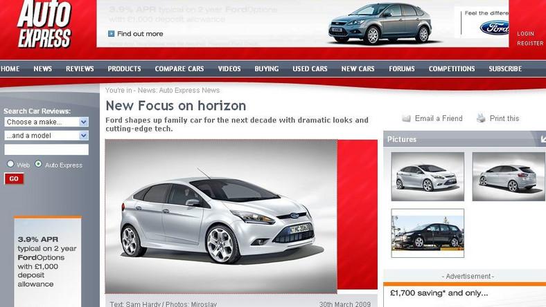 Nowego Ford Focus - pierwsze zdjęcia…