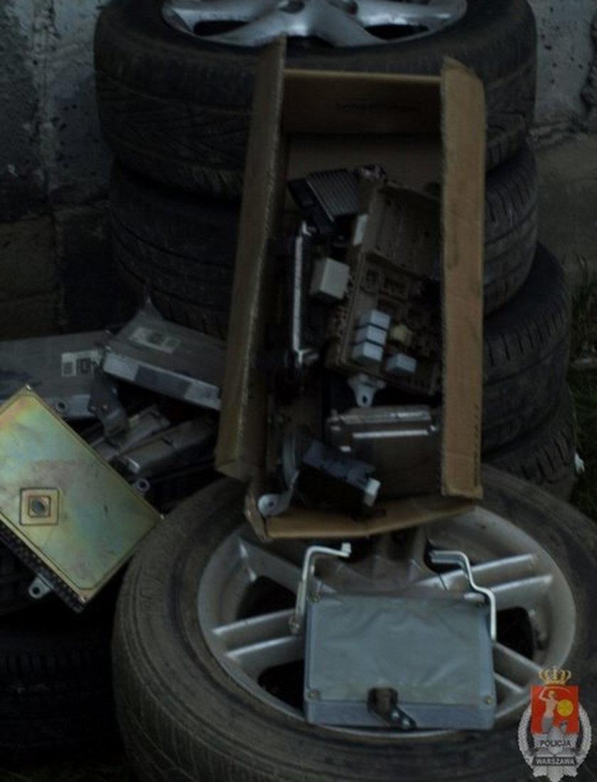 Zlikwidowano dziuplę samochodową
