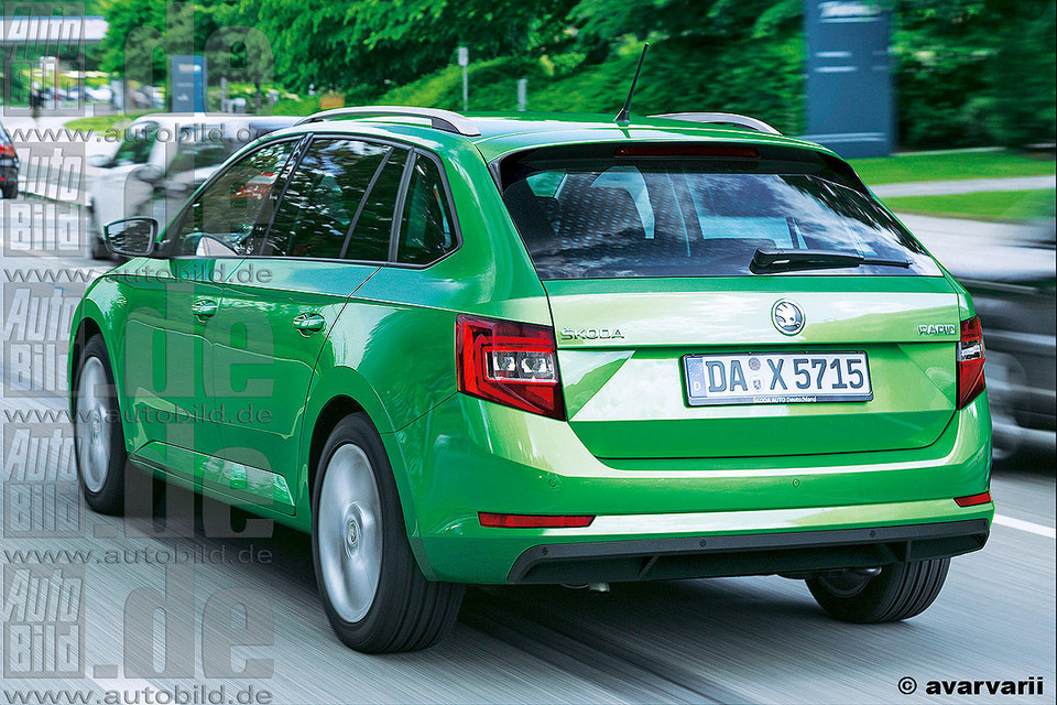 Nowa Skoda Rapid Spaceback