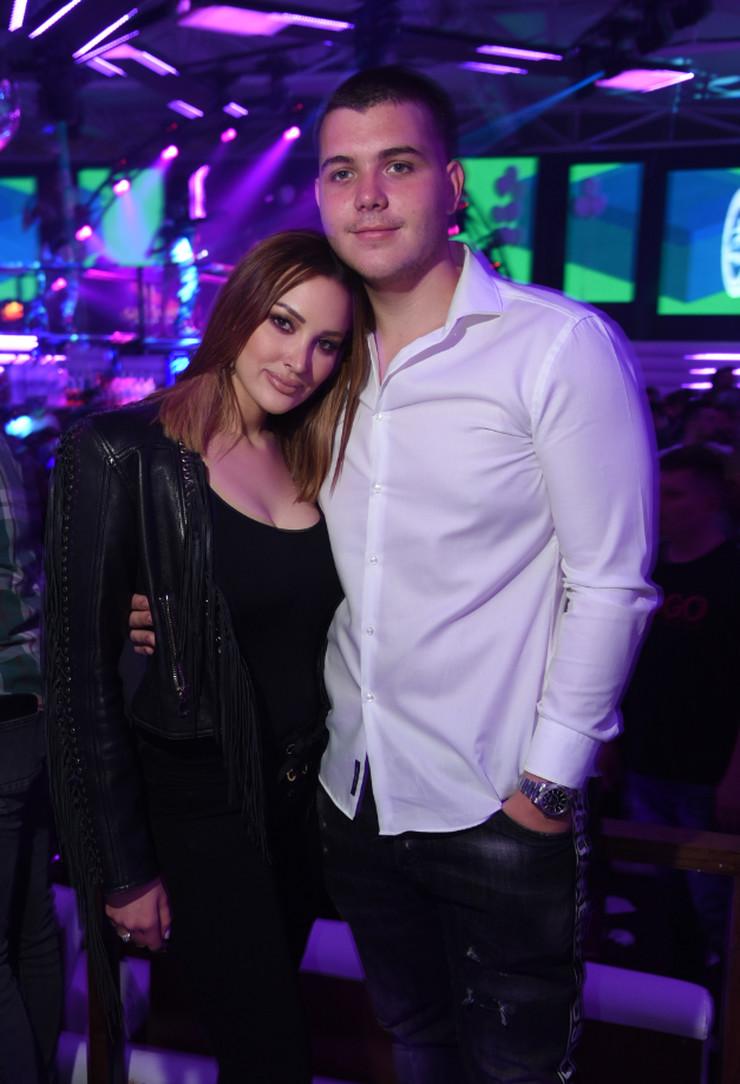 Filip Živojinović i Aleksandra Prijović
