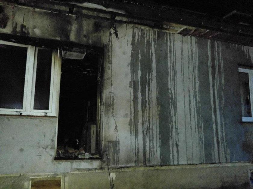 Tragiczny pożar na Suwalszczyźnie. Nie żyją rodzice i dwójka dzieci. O życie walczy 3-letni Mateuszek