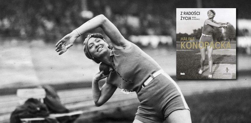 Zdobyła pierwszy złoty medal olimpijski dla Polski. Wyjątkowy album o Konopackiej