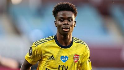 Arsenal youngster Bukayo Saka says it will be difficult to choose between England and Nigeria as reports from England say NFF are trying to get him