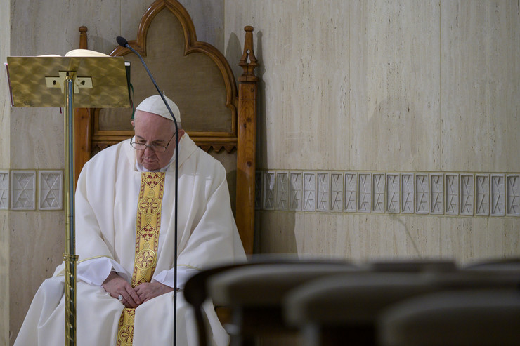 Vatikan Papa Franja EPA