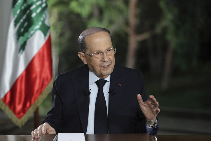 """LIBANSKI PREDSJEDNIK: """"Prije tri sedmice sam saznao da je eksplozivni materijal u luci, naložio sam da se preduzmu mjere, ali skladišta nisu moja nadležnost"""""""