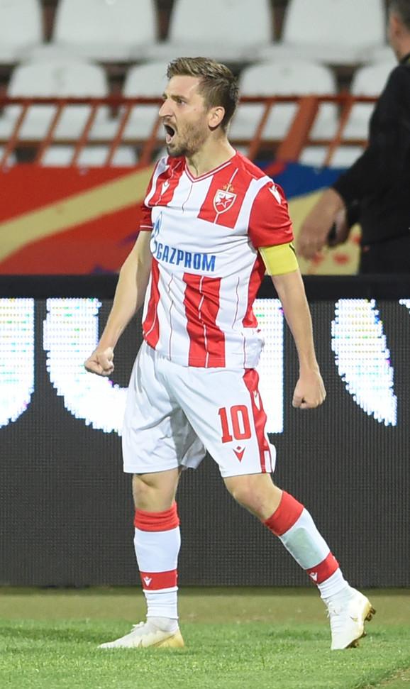 Marko Marin postiže prvi pogodak kao kapiten Zvezde