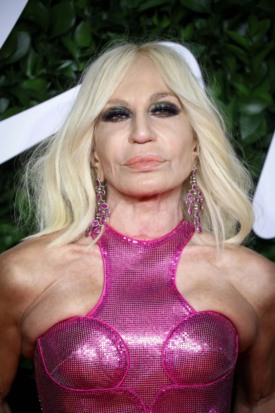Donatella Versace na Fashion Awards 2019 / SplashNews.com / East News