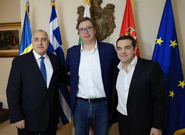 Bojko Borisov, Aleksandar Vučić, Aleksis Cipras Promo