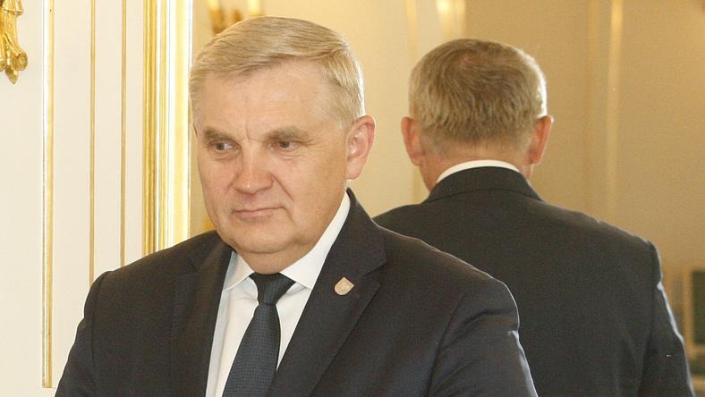 Nagrodę wręczał prezydent Białegostoku Tadeusz Truskolaski