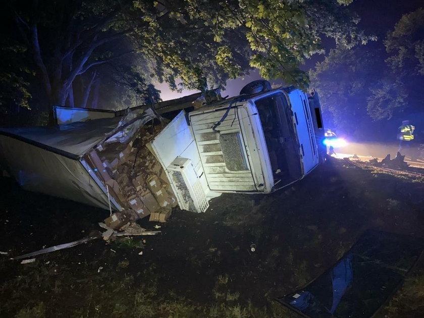 Wypadek w  Poźrzadle