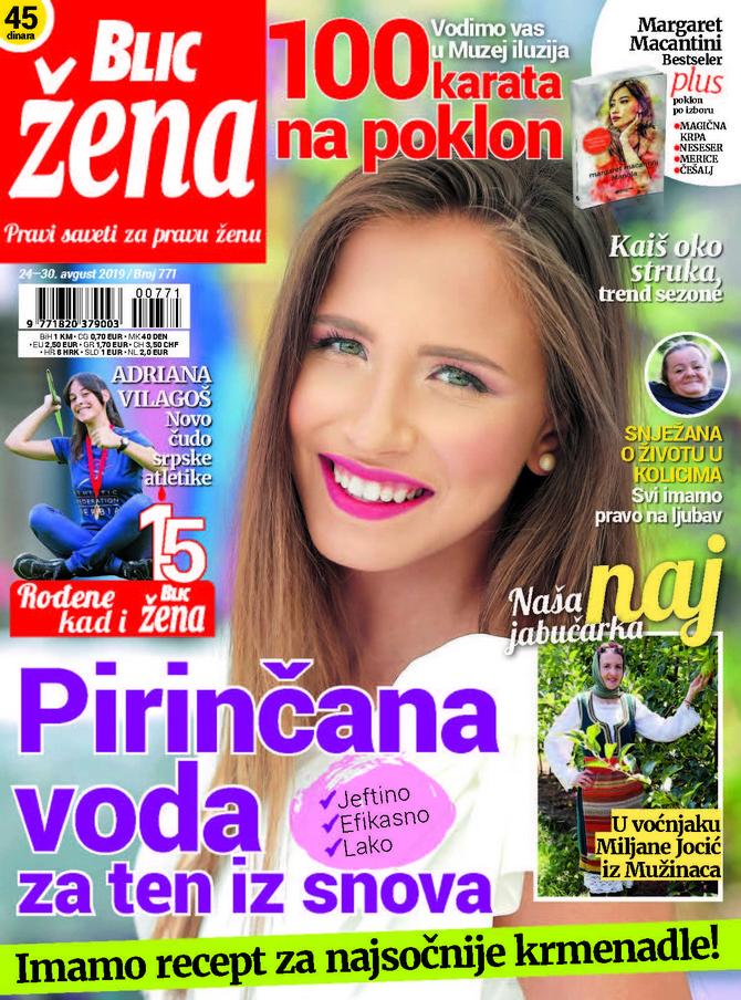 "Nova ""Blic žena"" na kioske stiže u subotu 24. avgusta"