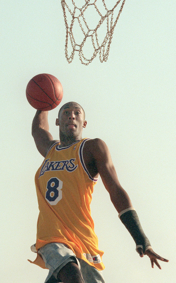 Kobe Bryant - debiut w Los Angeles Lakers - 1996 r.