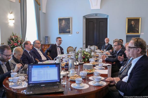 Spotkanie Kapituły Nagrody Gospodarczej Prezydenta RP - Krzysztof Sitkowski - KPRP