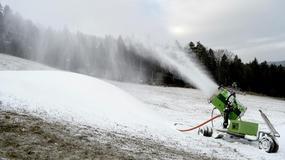Ruszyło naśnieżanie stoków narciarskich pod Tatrami