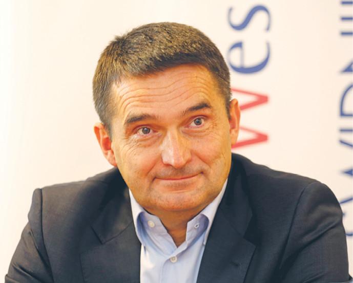 Adam Bartosiewicz, wiceprezes WB Electronics, największej prywatnej firmy przemysłu zbrojeniowego wPolsce