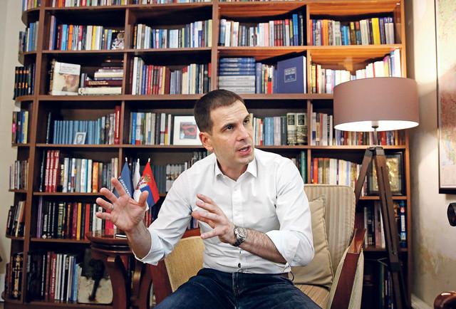 Miloš Jovanović, predsednik DSS