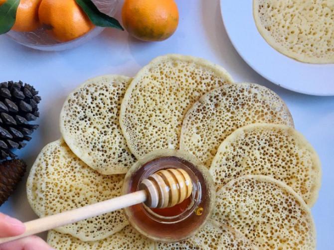 Sočne marokanske palačinke
