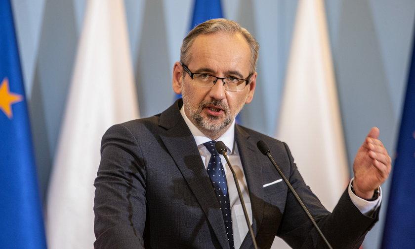 Miniser zdrowia Adam Niedzielski.