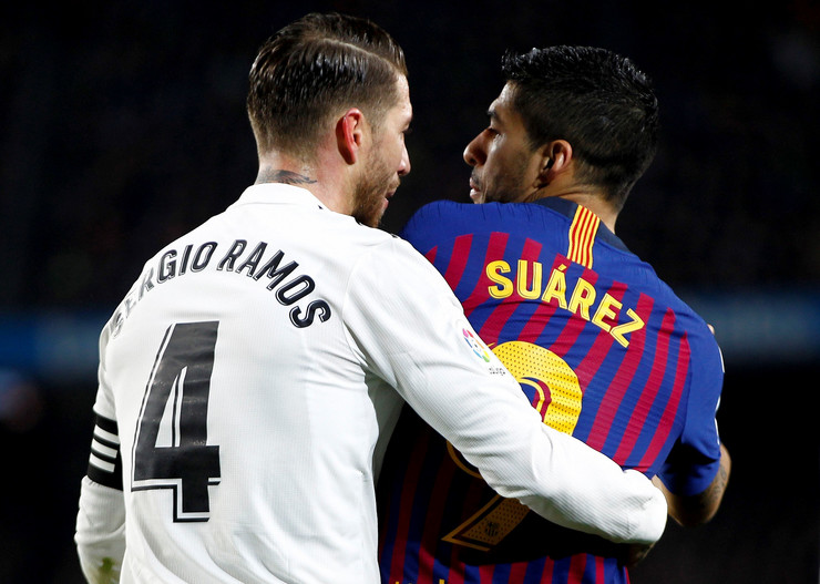 FK Real Madrid, FK Barselona, Serhio Ramos, Luis Suarez, El Klasiko